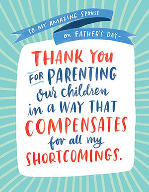 Father's Day Shortcomings Card