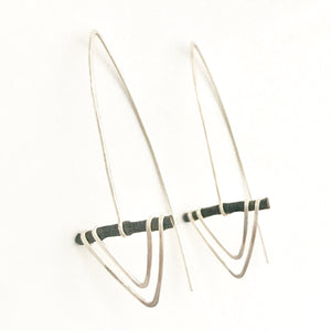 Sterling Silver Arrow Dangles