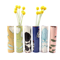 Assorted Skinny Ceramic Vases