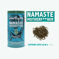 Namaste Mother F**ker Snarky Green Tea with Raspberry and Orange
