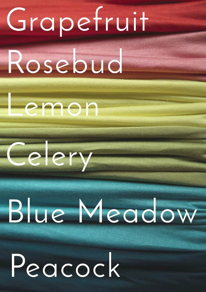 Color Swatches for Windsparrow Studio Scarves