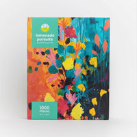 Abstract Floral Jigsaw Puzzle
