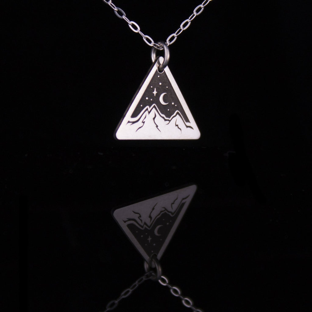Star Light Triangle Necklace