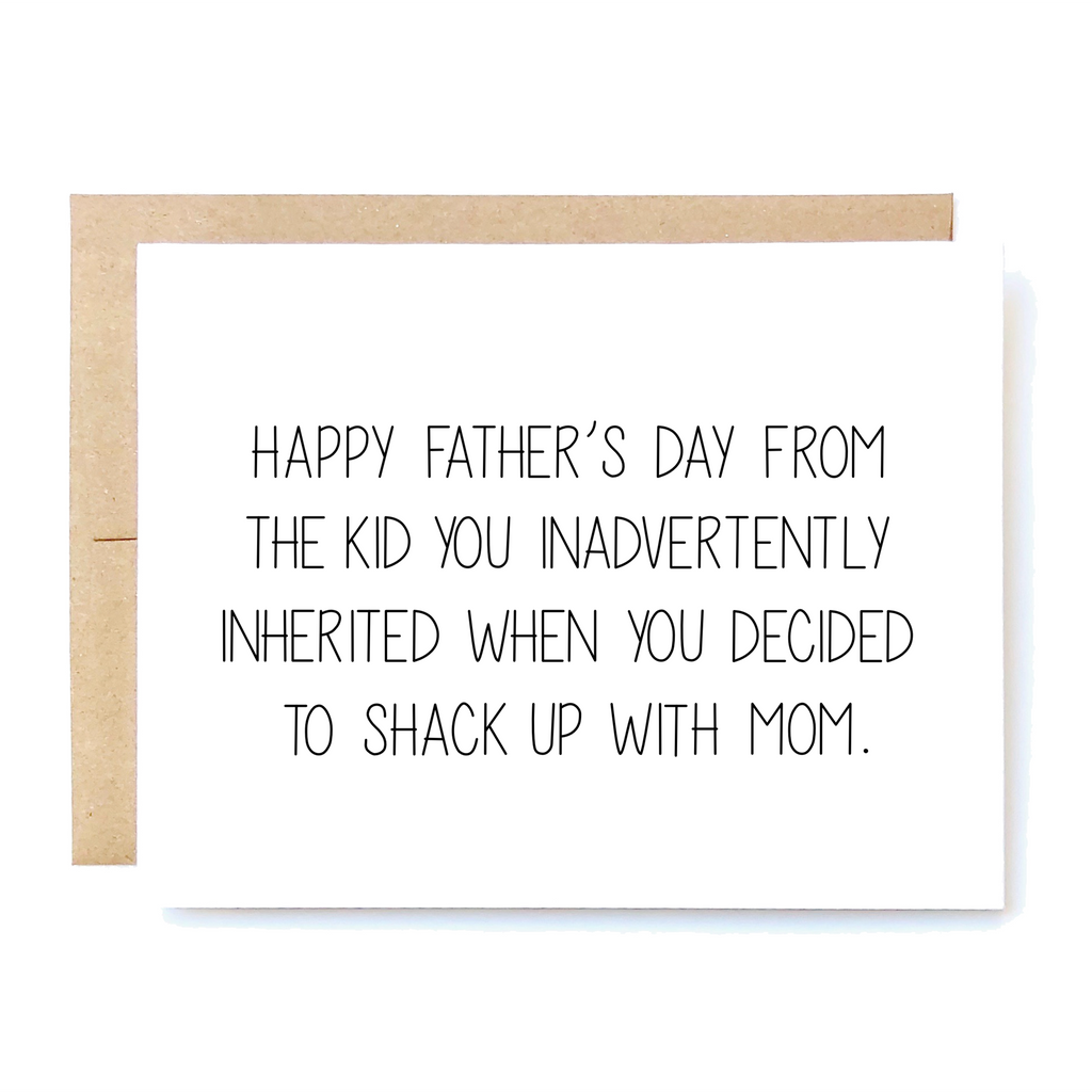Funny Stepdad Father's Day Card