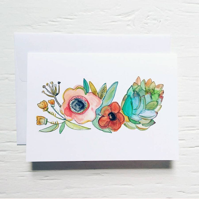 The Florist Card By Rachel Cordaro
