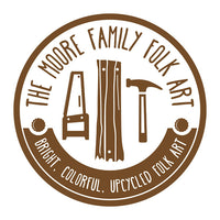 The Moore Family Folk Art Logo