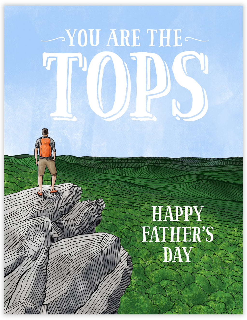 Tops Dad Father's Day Card