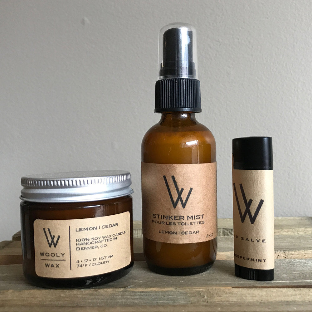 Travel Trio :: Wooly Wax