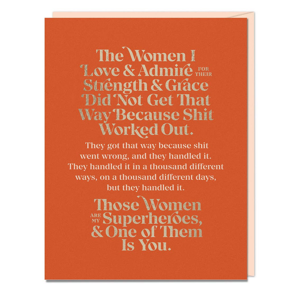 Women I Love Elizabeth Gilbert Card