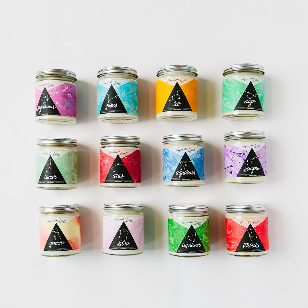 Zodiac Inspired Soy Candle Series