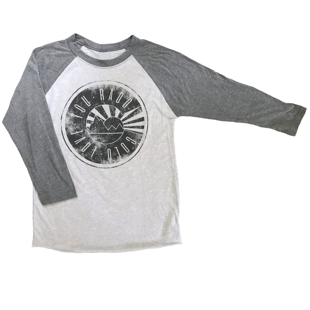Colorado Sun Ray Baseball Tee