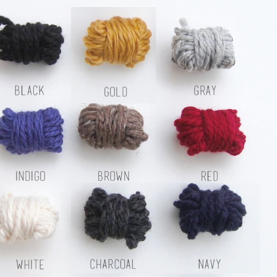 Cristin Rae Knitwear Color Swatches