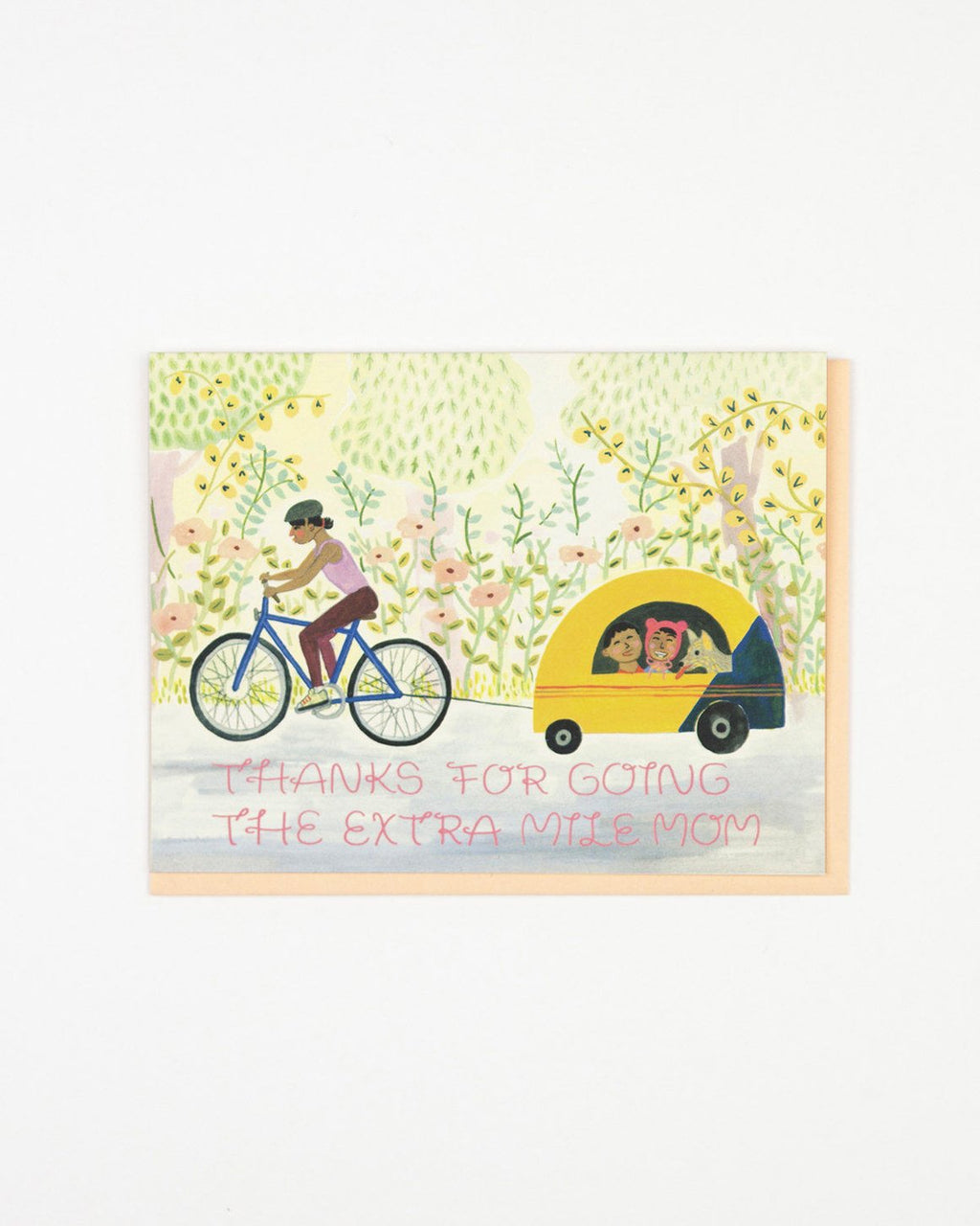Mother's Day Bicycle Card