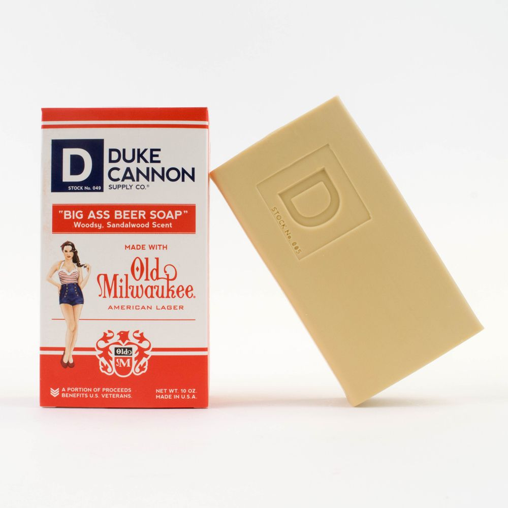 Pinup Packaging for Duke Cannon Big Ass Beer Soap