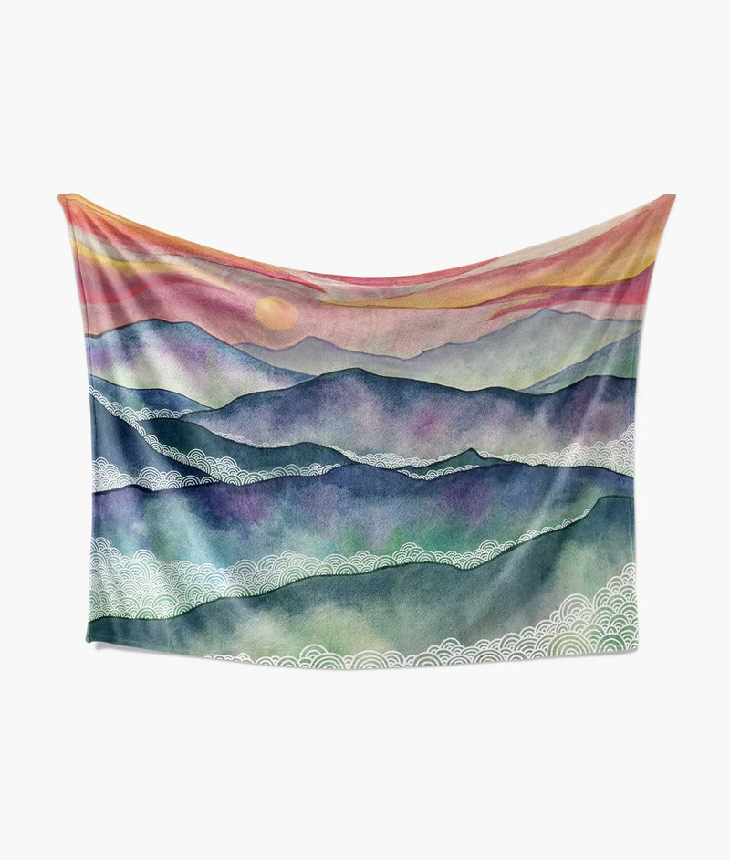 Blue Ridge Mountain Blanket