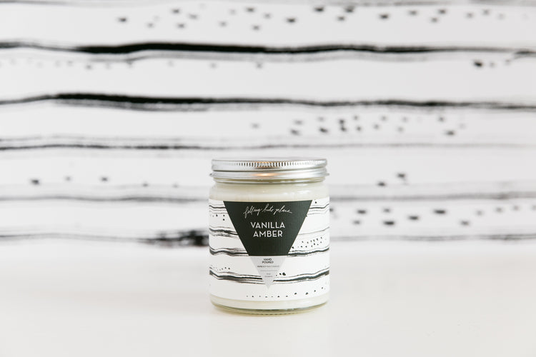 Vanilla Amber Soy Candle