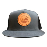 Charcoal Cololove Trucker Hat Front