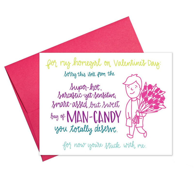 Lady Friend Valentines Card