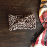 Knit Cinched Headband