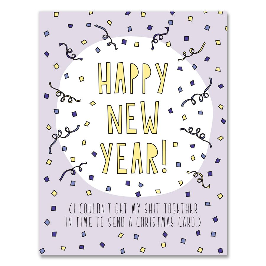 Happy New Year Funny Card
