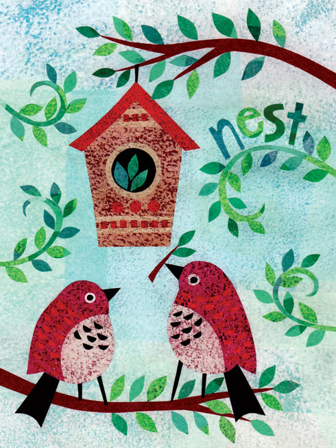New Home Nest Card