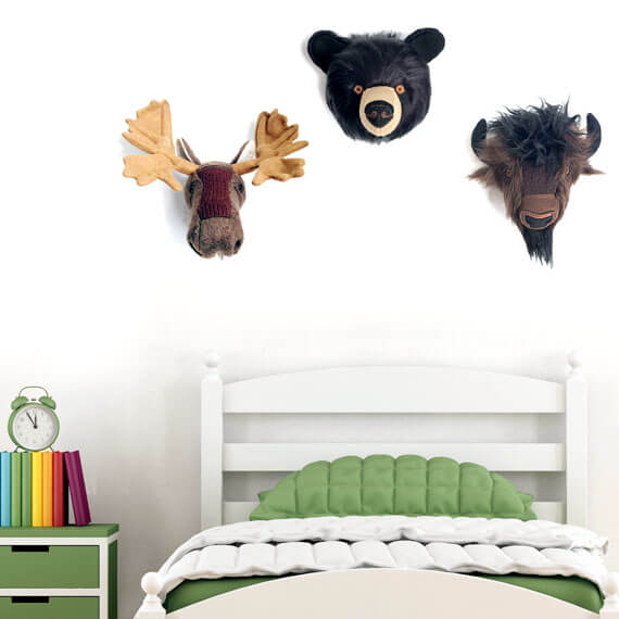 Kids Room with Plush Taxidermy