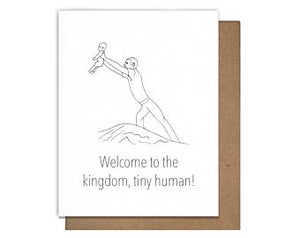 Lion King New Baby Card