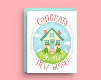 New Home Congrats Card