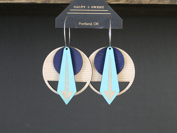Arrow Earring :: Salty and Sweet Designs