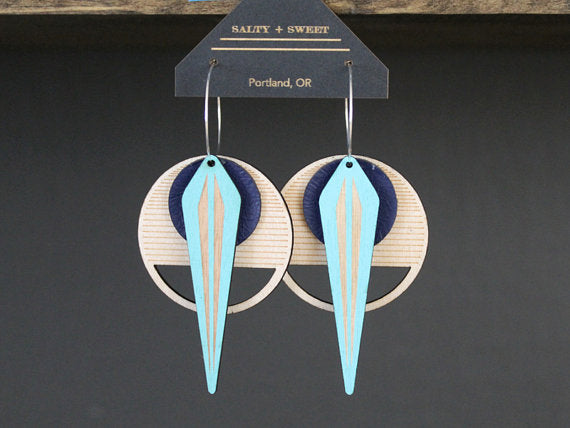 La Naja Earring :: Salty and Sweet Designs