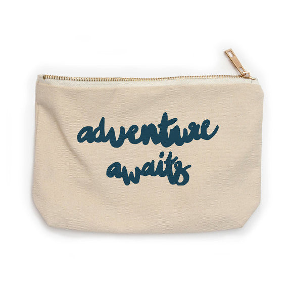 Canvas Zip Adventure Bags :: Compass Paper Co.