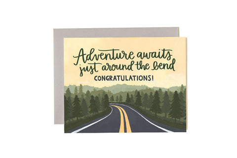 Adventure Waits Card :: 1canoe2