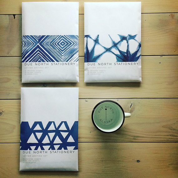 Indigo Collection Stationery Set
