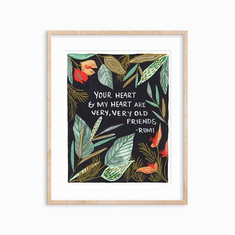 Rumi Tropical Forest Art Print