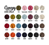 Canopy Supply Color Swatches