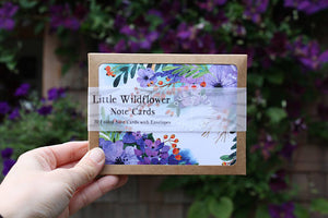 Little Wildflower Note Card Set