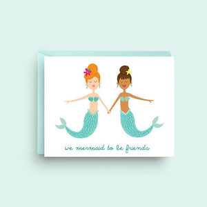 We mermaid to be friends
