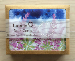 Lupine Notecard Boxed Set