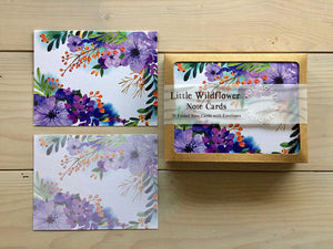 Boxed Wildflower Note Cards