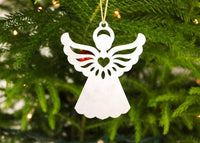 Aluminum Angel Ornament
