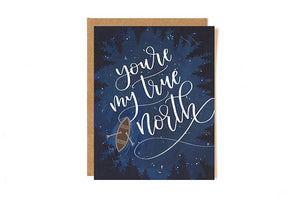 True North Greeting Card