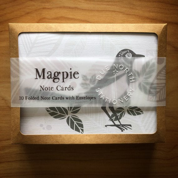 Magpie Notecard Set
