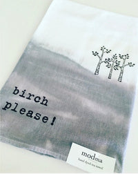 Birch Please Tea Towel