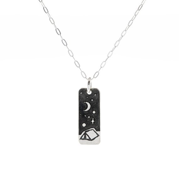 Night Camping Necklace