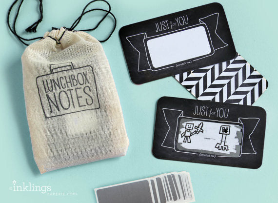 Lunch Box Notes :: Inklings Paperie