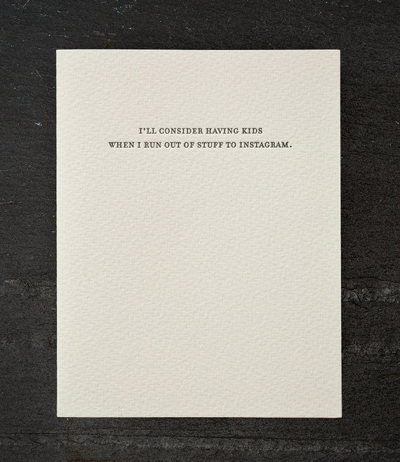 Mild Confession Cards by Sapling Press