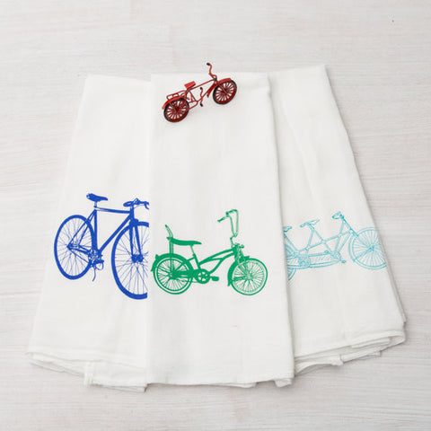 Counter Couture :: Bike Tea Towels