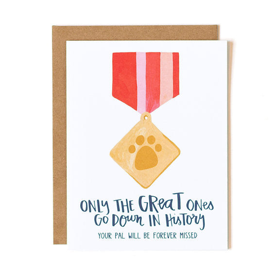 Pet Sympathy Cards :: 1canoe2