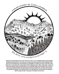 The Colorful Colorado 14er Coloring Book