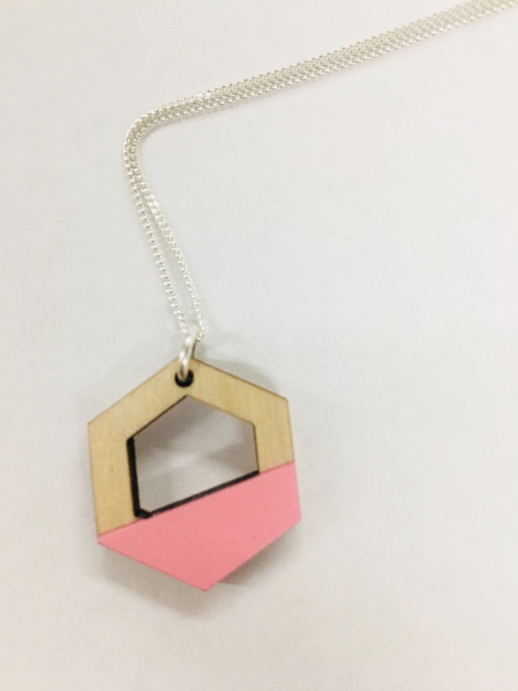 Dip Hexagon Necklace :: [un]possible cuts